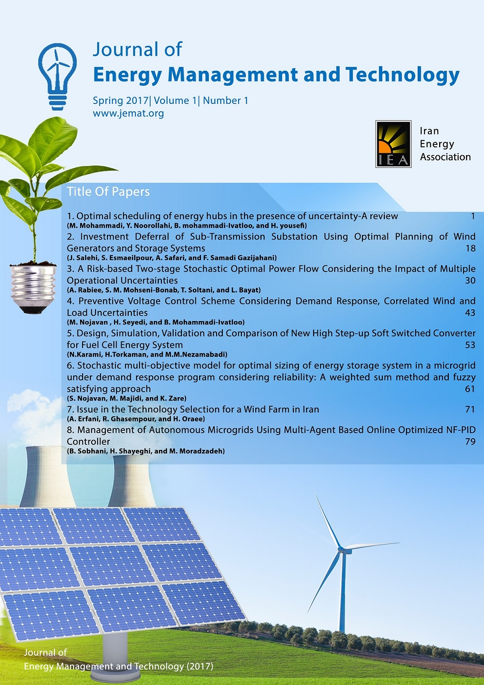Journal of Energy Management and Technology